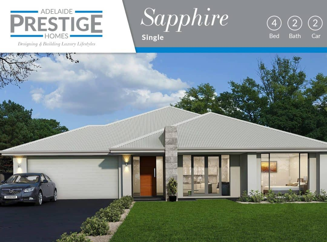 APH Home Design Elevation-Sapphire