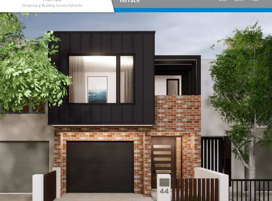 APH Home Design Elevation-Terrace 213