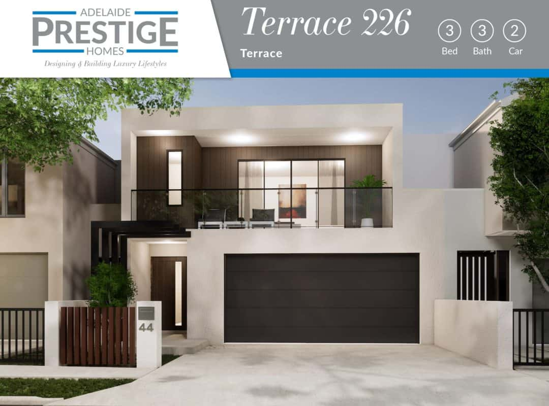 APH Home Design Elevation-Terrace 226