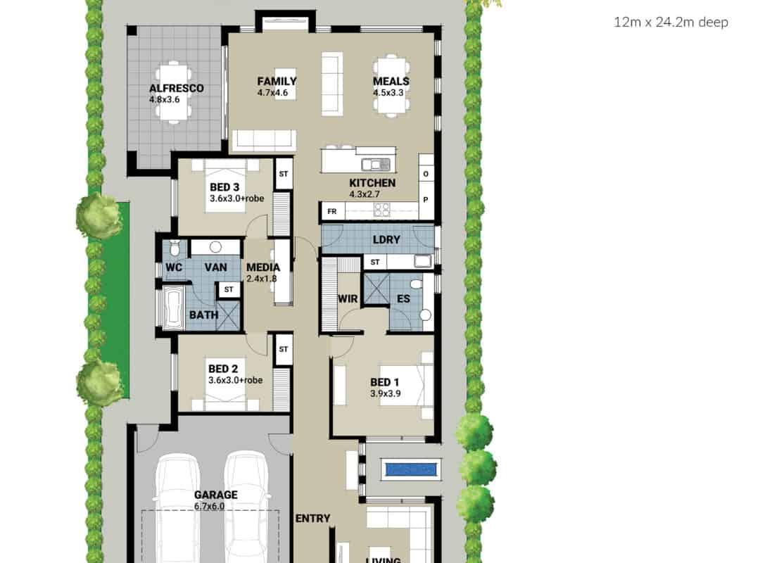 Mosman APH Home Sketches