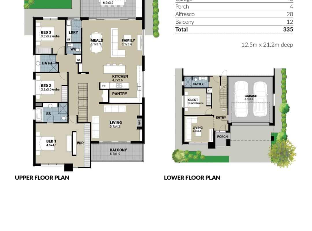Springview APH Home Sketches